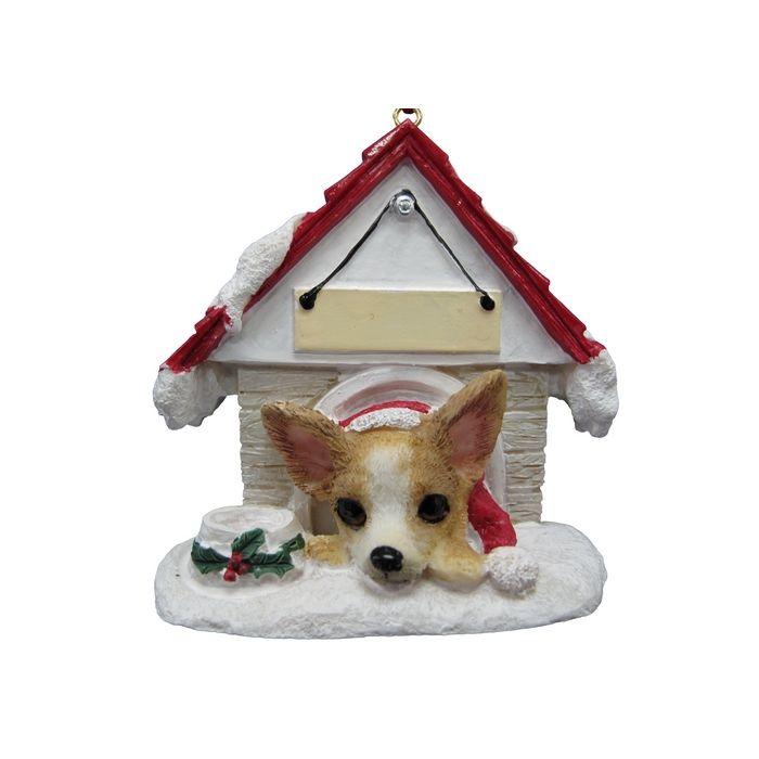 Dog House Ornament