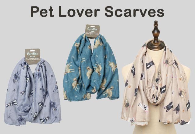 Pet Lover Scarves