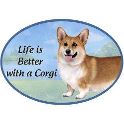 Welsh Corgi  Euro Magnet
