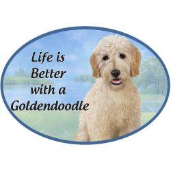 Goldendoodle  Euro Magnet