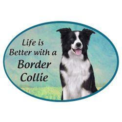 Border Collie  Euro Magnet