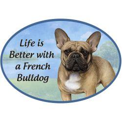 French Bulldog  Euro Magnet