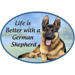 German Shepherd  Euro Magnet