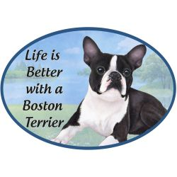 Boston Terrier  Euro Magnet