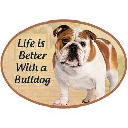 Bulldog  Euro Magnet