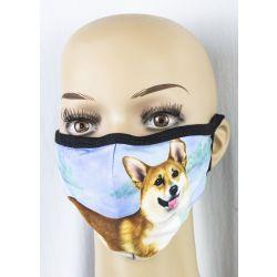 Welsh Corgi Face Masks