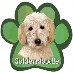 Goldendoodle Car Magnet