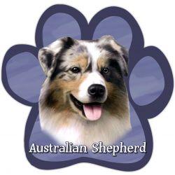 Australian Shepherd Car Magnet