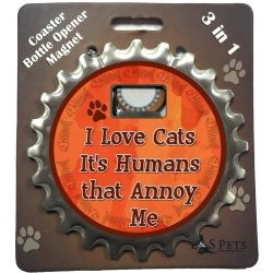 I love cats It's Humans that Annoy Me