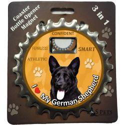 German Shepherd, Black