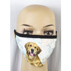 Golden Retriever Face Masks