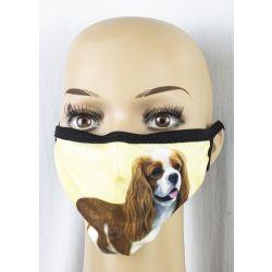 King Charles Cavalier Face Masks