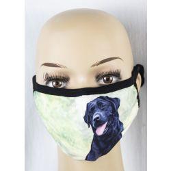 Labrador, black Face Masks