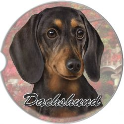 Dachshund, Black car coaster