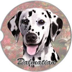 Dalmatian car coaster