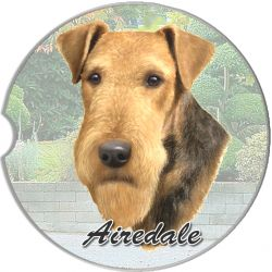Airedale car coaster