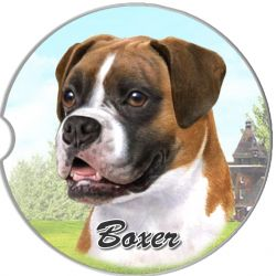 Boxer, Uncropped car coaster