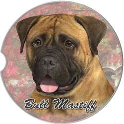 Bull Mastiff car coaster