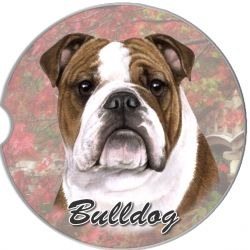 Bulldog car coaster
