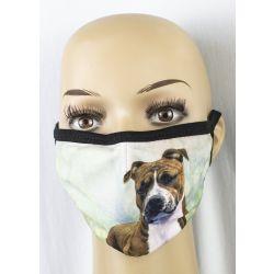 Pit Bull Face Masks