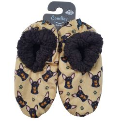 Chihuahua, black Pet Lover Slippers