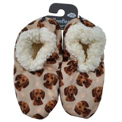 Dachshund, red Pet Lover Slippers