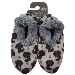 Labrador, black Pet Lover Slippers