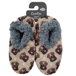 Labrador, chocolate Pet Lover Slippers