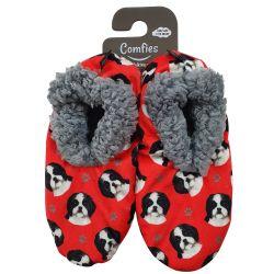 Shih Tzu, black Pet Lover Slippers