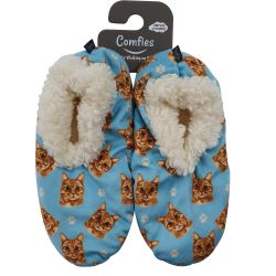 Orange Tabby Pet Lover Slipper