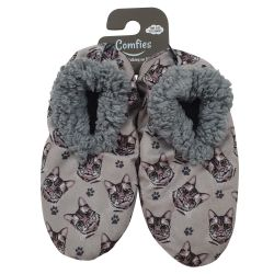 Silver Tabby Pet Lover Slippers