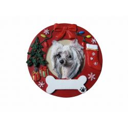Chinese Crested Christmas Ornament Wholesale