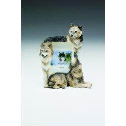 Wolf Trio (3 1/2x5)
