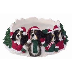 King Charles, tri-color Candle topper