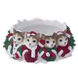 Calico Cat Candle topper