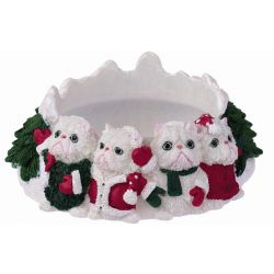 Persian Cat Candle topper