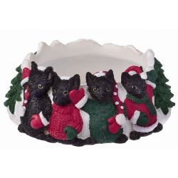 Black Cat Candle topper