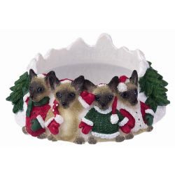 Siamese Cat Candle topper