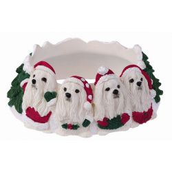 Maltese Candle topper
