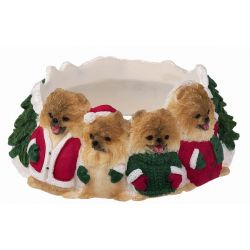 Pomeranian Candle topper