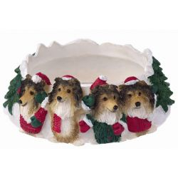 Sheltie Candle topper