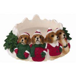 Beagle Candle topper