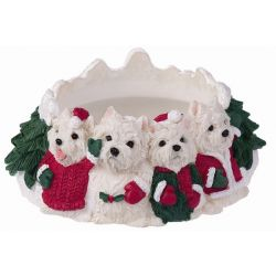 Westie Candle topper