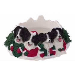 Border Collie Candle topper