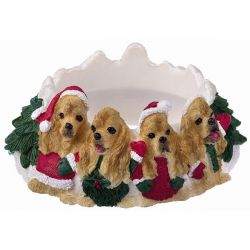 Cocker Spaniel Candle topper