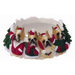 Boxer, cropped Candle topper