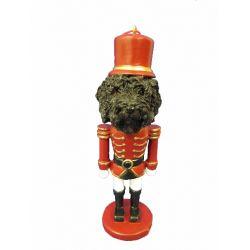 Labradoodle, black Nut Cracker Ornament