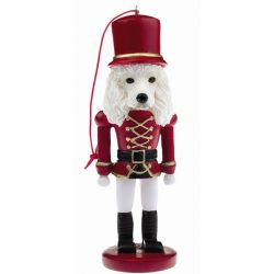 Poodle, white Dog soldier