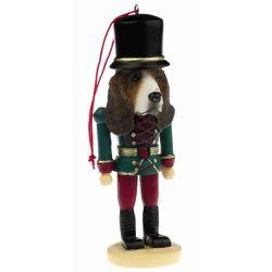 Basset Hound Soldier ornament