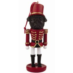 Pug, black Dog soldier